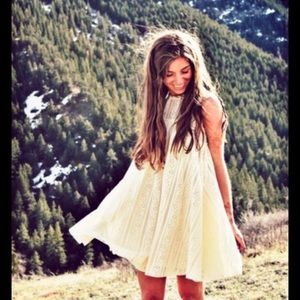 Free People Tu Es La Mini Dress